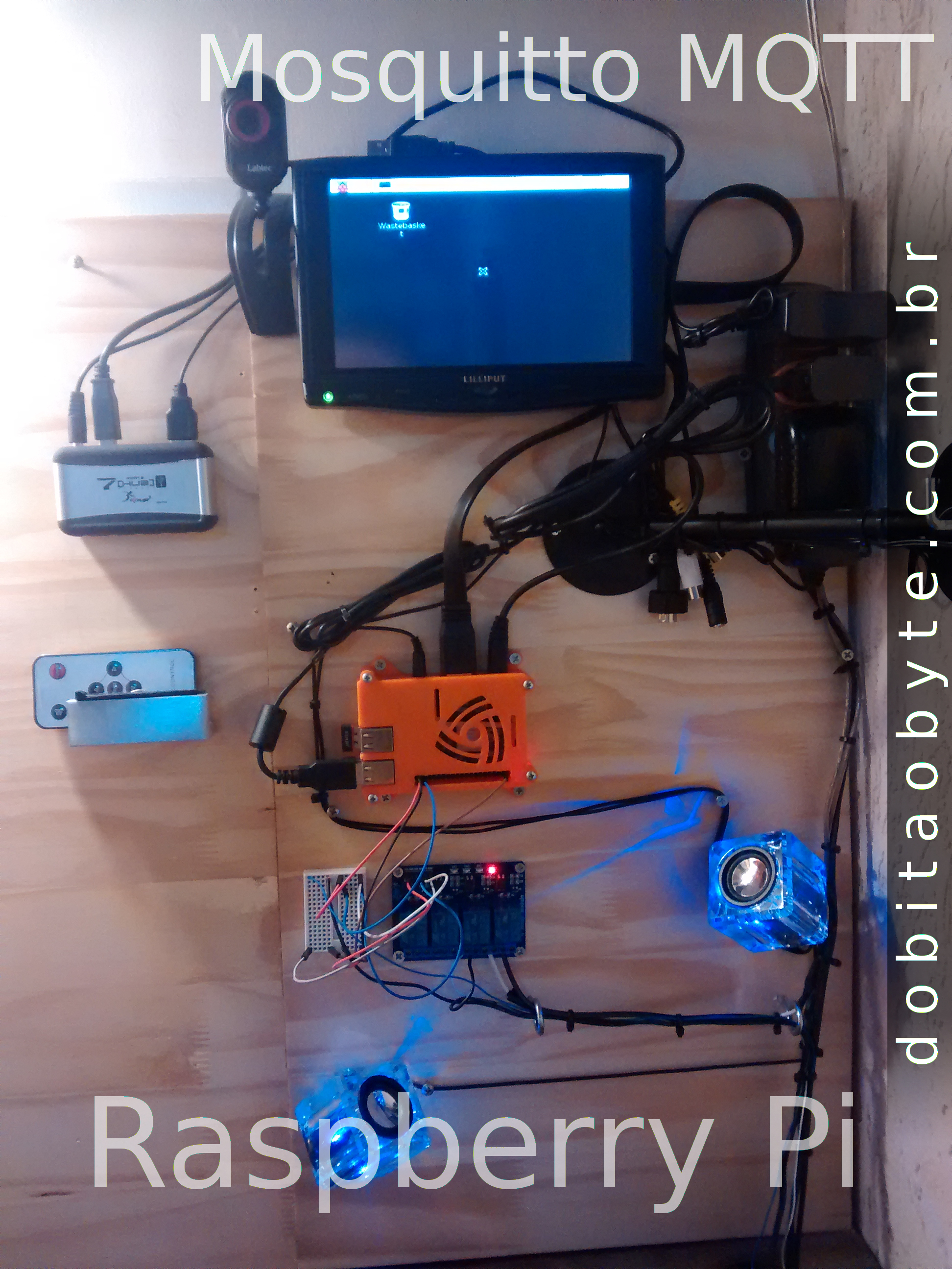 Domótica - MQTT e Raspberry - servidor NTP no Raspberry