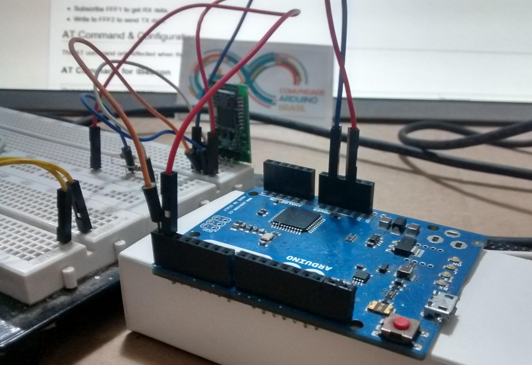Beacon com Arduino
