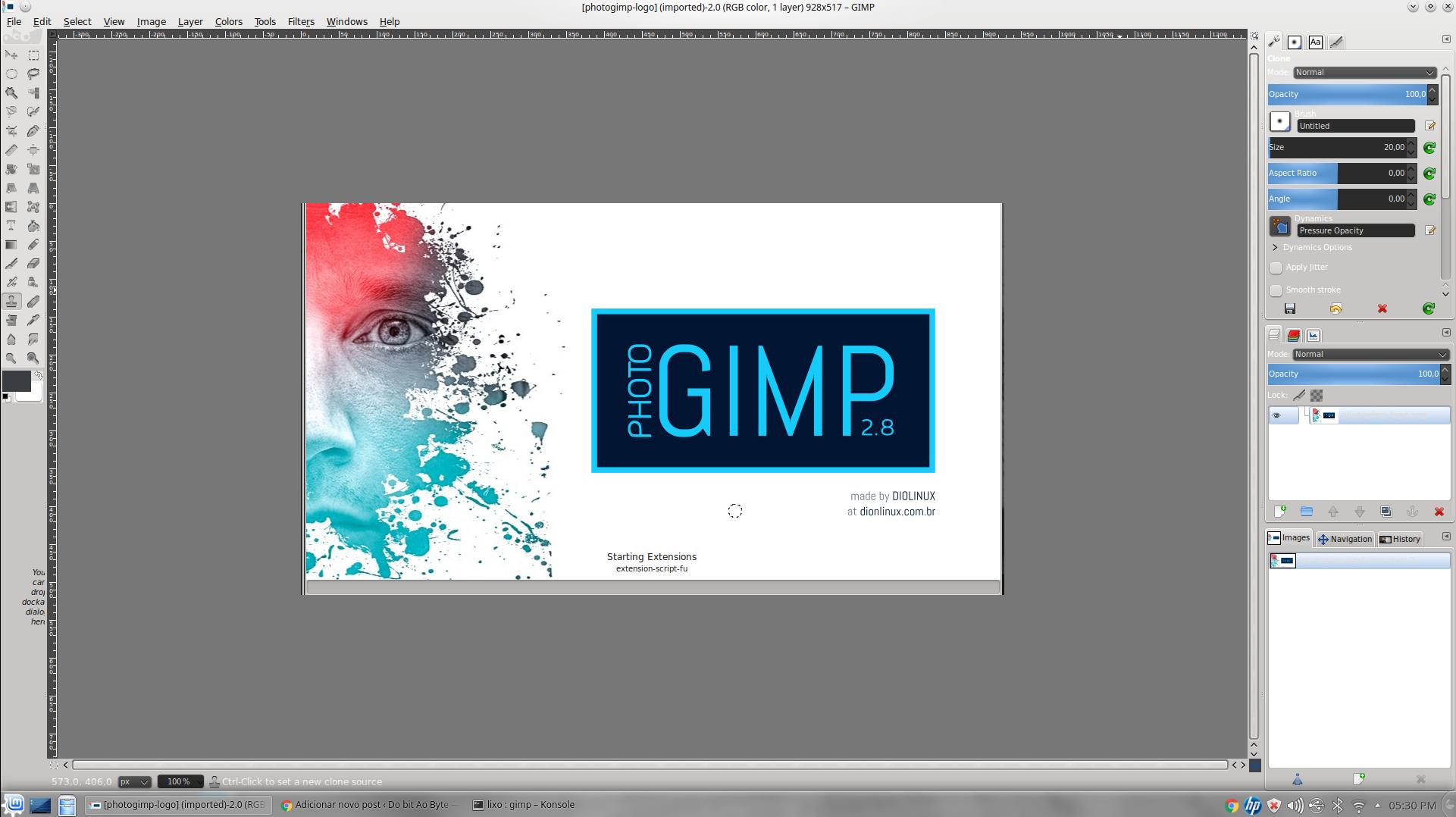 Gimp Se Comportando Como Photoshop Do Bit Ao Byte