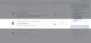 Arduino no Eclipse - Eclipse download