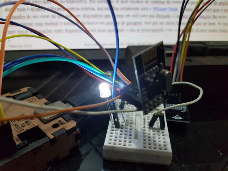 Módulo nrf l com arduino do bit ao byte