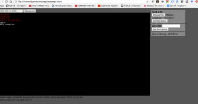Transferência pelo browser