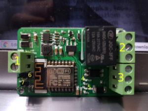 módulo relé com ESP8266