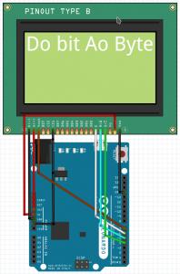 display 128x64 com Arduino | wiring