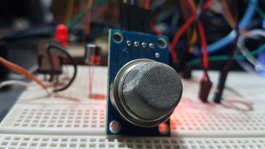 Sensor MQ-6 para gás