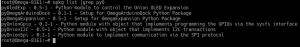 Instalar Python na Omega