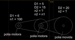 como calcular RPM - exemplo 2