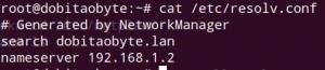 configurando DNS