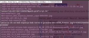 Como criar um dataset - descobrir extensão do arquivo