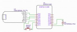face recognition com ESP32-CAM - ftdi