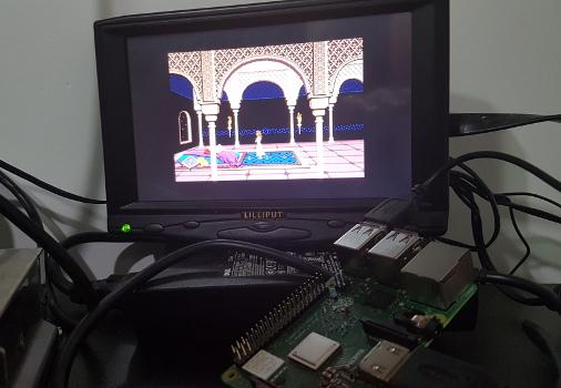 jogos de DOS no Raspberry