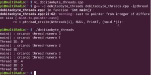 Multithread no Raspberry