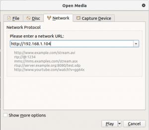 Stream usando VLC