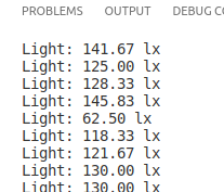 sensor de intensidade luminosa GY-30