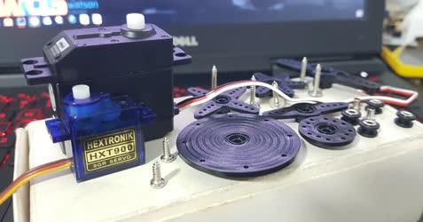 servo motor de rotação contínua