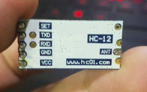 comunicação remota sem Internet usando HC-12
