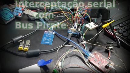 serial com Bus Pirate