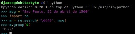 regex no MicroPython - ausente